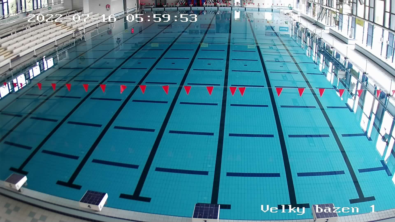 Webcam Plzeň - Plavecký bazén Slovany